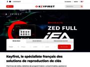 screenshot http://www.keyfirst.fr keyfirst : vente en ligne machine à clé