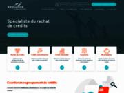 screenshot http://www.keyliance.fr le rachat de credit en toute transparence