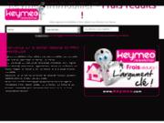screenshot http://www.keymeo.com agence keymeo
