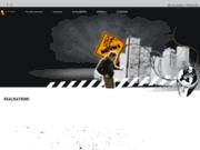 screenshot http://www.keymi-graff.com keymi - artiste graff - auvergne