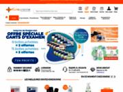 screenshot http://www.kinessonne.com matériel de kinésithérapie en ligne