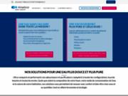 screenshot http://www.kinetico.fr/ adoucisseur d'eau