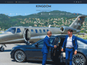 screenshot https://www.kingdom-limousines.com/fr/ Voiture avec chauffeur VTC