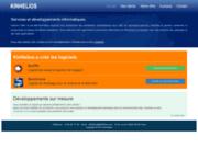 screenshot http://www.kinhelios.com développement informatique sur mesure
