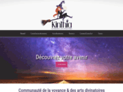 screenshot http://www.kinthia.com voyance gratuite