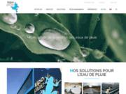 screenshot http://www.kipopluie.com récupération d'eaux pluviales kipopluie