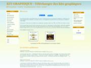 screenshot http://www.kit-graphik.com télécharger des kits graphiques