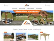Boutique de vente des abris de jardin en bois
