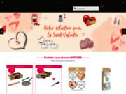screenshot http://www.kitchen.fr/ ustensiles de cuisine