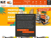 screenshot http://www.kitutilitaire.com amenagement vehicule utilitaire