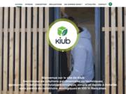 Maisons écologiques en bois Kiub