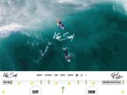 screenshot http://www.kiwisurfbiscarrosse.com/activites/ecole-de-surf/ kiwi surf stage