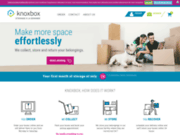 screenshot https://www.knoxbox.fr/fr/ entrepôt de stockage