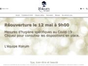 screenshot http://www.kokum-spa-bien-etre-beaute.fr/ kokum – spa et institut de beauté à aix les bains