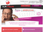 screenshot http://www.kp-paye.com/ kp paye, gestion de la paie à paris et nantes