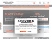screenshot http://www.krenobat.fr/ la boutique du plaquiste