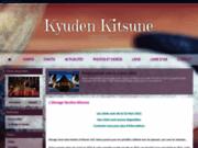 screenshot http://www.kyuden-kitsune.com elevage kyuden kitsune : akita inu et hokkaido ken