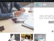 Agence web Drôme, Ardèche, Isère - Kyxar.fr - création web, développement de sites internet