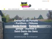 L'Atelier du Portail, entreprise de portails à Saint-Denis-lès-Sens