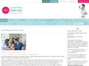 screenshot http://www.l-idel.fr/ l'infirmière libérale francaise