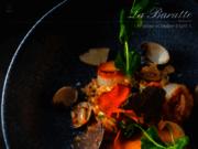 screenshot http://www.la-baratte.com restaurant à tourcoing