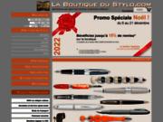 screenshot http://www.la-boutique-du-stylo.com stylos plume de grandes marques