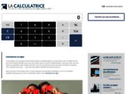 screenshot http://www.la-calculatrice.com la calculatrice