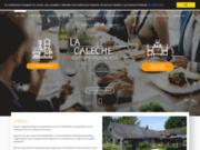 screenshot http://www.la-caleche.be/ restaurant esplechin