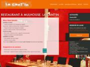 screenshot http://www.la-cantin.com Restaurant à Mulhouse en Alsace