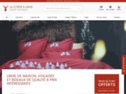 screenshot http://www.la-corde-a-linge.com la corde a linge, linge de maison à gérardmer