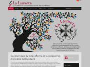 screenshot http://www.la-lauzeta.com la lauzeta - occitane et bio.