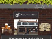 screenshot http://www.la-maison-commune.com/ cuisine traditionnelle du Nord