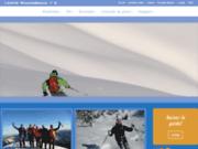 screenshot http://la-montagne-guide.fr la-montagne-guide.fr, le site de Nicolas DRAPERI, guide de haute montagne