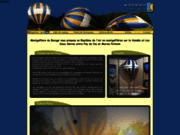 screenshot http://www.la-montgolfiere.com montgolfière entre marais poitevin et puy du fou