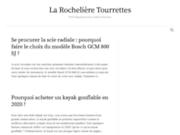 screenshot http://www.la-rocheliere-tourrettes.com la rochelière, maison d'hôtes de charme