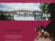 screenshot http://www.la-sauvageonne.com domaine de la sauvageonne : centre équestre et poney club à arnas