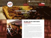 screenshot http://www.la-tantina-de-burgos-bodega.com restaurant à toulouse – restaurant bodega, tapas, paella, gambas