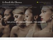 screenshot http://www.labeautedescheveux.com/ La Beauté des Cheveux