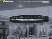 Site Web de l'entreprise Label Enseignes