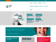 screenshot http://www.labo-lmp.com/ Prothèses dentaires
