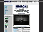 screenshot http://www.labo-photon.fr photon - laboratoire photo professionnel numérique
