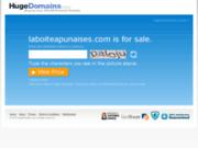 screenshot http://www.laboiteapunaises.com/ la boite à punaises, accordeon neuf et occasion à paris 75