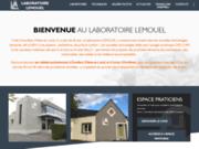 screenshot http://www.laboratoire-lemouel.fr laboratoire lemouel - prothésiste dentaire angers / ecouflant