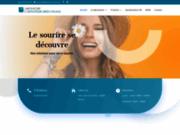 screenshot http://www.laboratoire-rouvre.fr orthopédie dento faciale