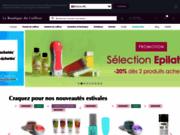 screenshot http://www.laboutiqueducoiffeur.com la Boutique du Coiffeur