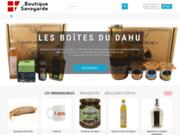 screenshot http://www.laboutiquesavoyarde.com la boutique savoyarde