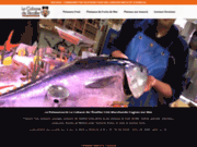screenshot http://www.lacabanedelecailler.com/le_restaurant/index.php restaurant de poissons fruits de mer et crustacés