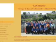 screenshot http://www.lacaracole.be danse folklorique et traditionnelle : la caracole