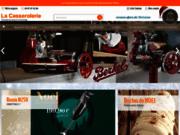 screenshot http://www.lacasserolerie.com/ articles de cuisine