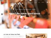 screenshot http://www.lacavedugrandsud.fr Caviste et Cave à Vin Arles 13